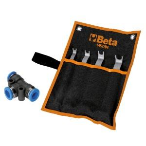 Serie de herramientas para desbloquear conectores Rilsan