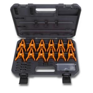 Kit 6 pares de alicates para oclusión de tubos