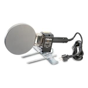 Termoplacas para soldadura manual recta  e inclinada de tubos en material plástico  PE, PP, PVC y PVDF