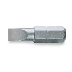 Puntas de atornillar para tornillos  con cabeza ranurada