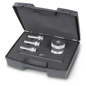 Juego de herramientas para extracción de bujías bloqueadas con punta deformada M8-M9-M10