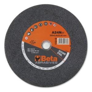 Discos abrasivos para cortar acero ejecución con centro plano