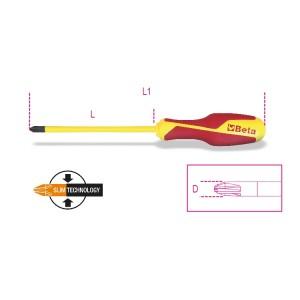 Destornilladores para tornillos con huella de cruz Pozidriv®-Supadriv®