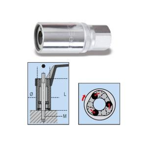 """Extractores de rodillos para espárragos  con cuadrado hembra 1/2"""""""