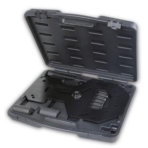 Juego de herramientas para retirar e instalar el embrague doble para la transmisión Powershift