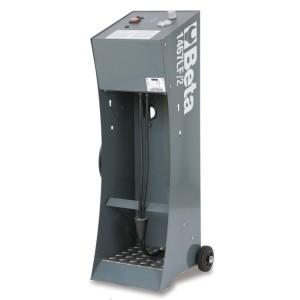 Máquina eléctrica para el cambio de líquidos de freno y sangrado