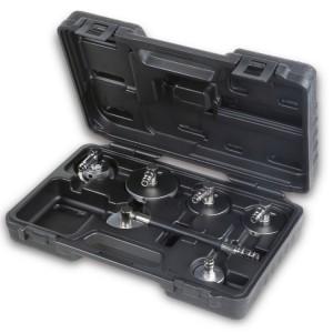 Juego de tapones adaptadores  para cubetas de líquido de frenos, para utilizar con los productos de Beta 1467LF y 1467LF/2