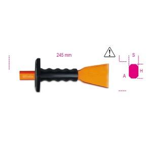 Cincel de corte extraplano  con mango protector