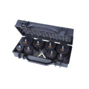 Kit 4 pares de tapones para comprobación del circuito turbo que puede utilizarse con pistolas para inflar neumáticos