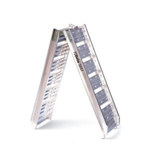 Rampa de aluminio para carga/descarga moto