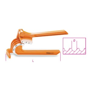 Curvatubos para tubos de pared fina  en cobre y aleación ligera