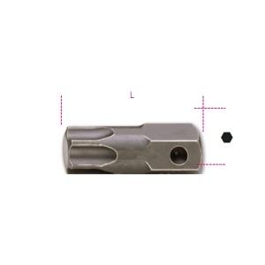 Punta de impacto macho para tornillos  con huella Torx®, unión 22 mm