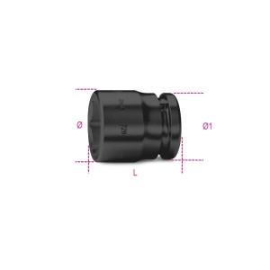 """Llaves de vaso de impacto  con cuadrado hembra 3/4"""",  boca hexagonal, serie normal, fosfatadas"""
