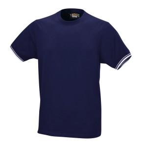 Camiseta de trabajo, 100% algodón, 150 g/m2, azul marino