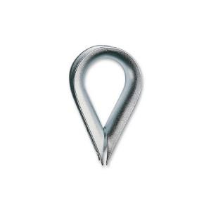 Guardacables forma corazón, tipo ligero, cincados
