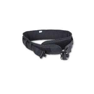 Cinturón de seguridad con hebilla metálica de cierre doble. Para la conexión de herramientas H-SAFE