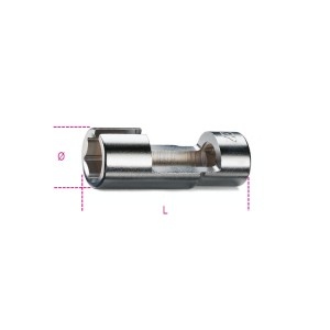 """Llaves de vaso para sonda Lambda  con cuadrado hembra 1/2"""""""