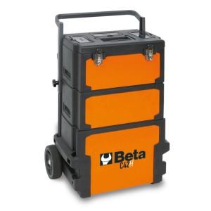 Trolley porta-herramientas de3 módulos superponibles