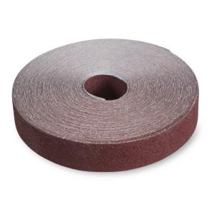 Rouleaux antigaspillage en toile abrasive en corindon