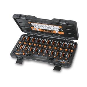 Composition de 23 outils pour déblocage des connecteurs électriques