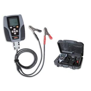 Testeur numérique pour batteries 12V, analyseur du système de démarrage et du circuit de charge en 12-24V