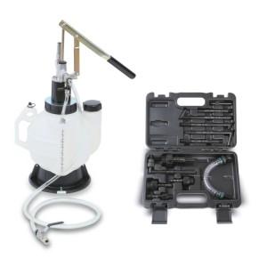 Outil pour l'introduction d'huile dans les boîtes de vitesses manuelles, automatiques et les différentiels