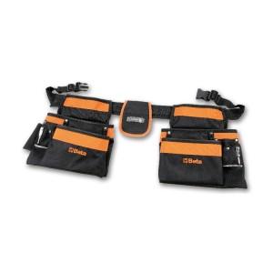 Porte-outils poche double vide en nylon, avec ceinture