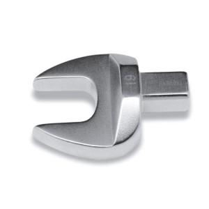 Clé à fourche pour clés dynamométriques  avec entraînement rectangulaire