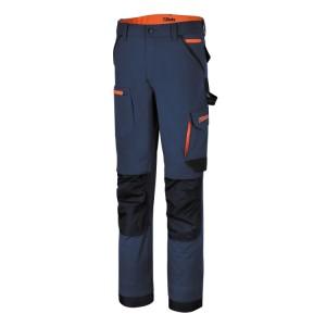 Pantalon de travail stretch, multipoches