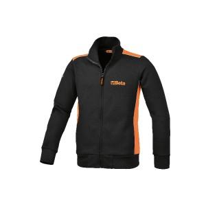 Sweat-shirt en coton 80 %, polyester 20 %, 320 g/m2