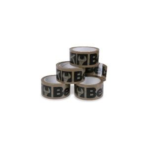 Paquet de 36 rouleaux de ruban adhésif  pour emballage, logo Beta, havane