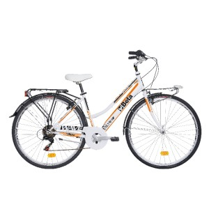"Vélo de ville Atala®, cadre aluminium, dérailleur Shimano® 6 vitesses, freins V-Brake® jantes aluminium 28"""