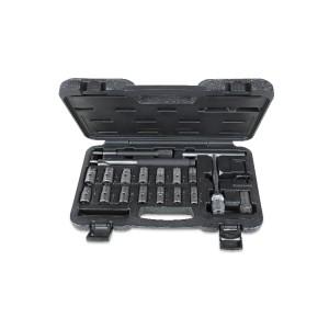 Composition de 19 outils pour le nettoyage des sièges des injecteurs
