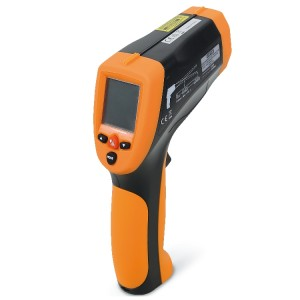 Lézeres digitális infrahőmérő Lézerpointerrel