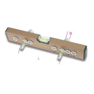 Vízmérték 3 libellával  csapok beállításához