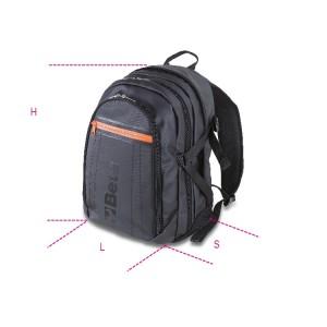 Bevont szövet/poliészter hátizsák, oxford 600D, méret 50x33x16 cm