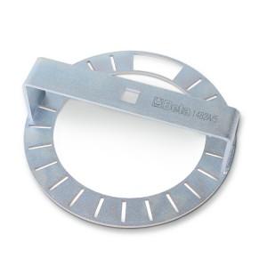 Üzemanyagtartály úszó rögzítőgyűrű kulcs, 22 körcikkes