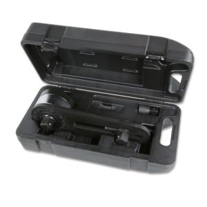 Nyomatéksokszorozó, jobb- és bal irányú meghúzáshoz, műanyag ládában, áttétel 3,8:1, visszaütésgátlóval