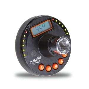 Digitális szögmérő nyomaték és szögérték meghúzáshoz