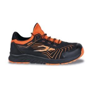 Jól szellőző mesh szövet cipő TPU betétekkel