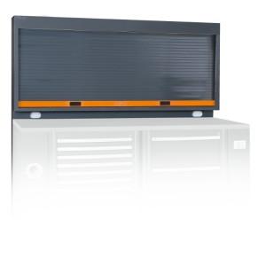 Redőnyös fali szerszámtartó rendszer 2 elektromos aljzattal (az aljzat nem tartozék)