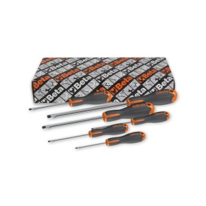 6-delig set Evox schroevendraaiers voor sleufschroeven