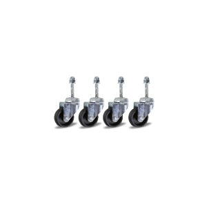4 reserve zwenkwielen voor hydraulische krik 3026 0,3