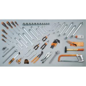 Assortiment van 68 gereedschappen