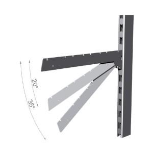 Wand haak: diepte 37 cm
