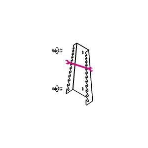 Wandhouder voor 12 dubbele steeksleutels