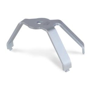 3-armige sleutel voor tankborgringen, met een aluminium borgring
