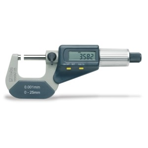 Digitale micrometers Uitlezing tot 0.001 mm