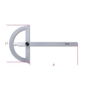 Hoekmeters vervaardigd  uit roestvast staal