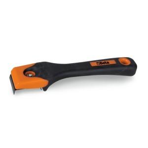 Verfschraper, mesjes kunnen aan meerdere kanten worden gebruikt